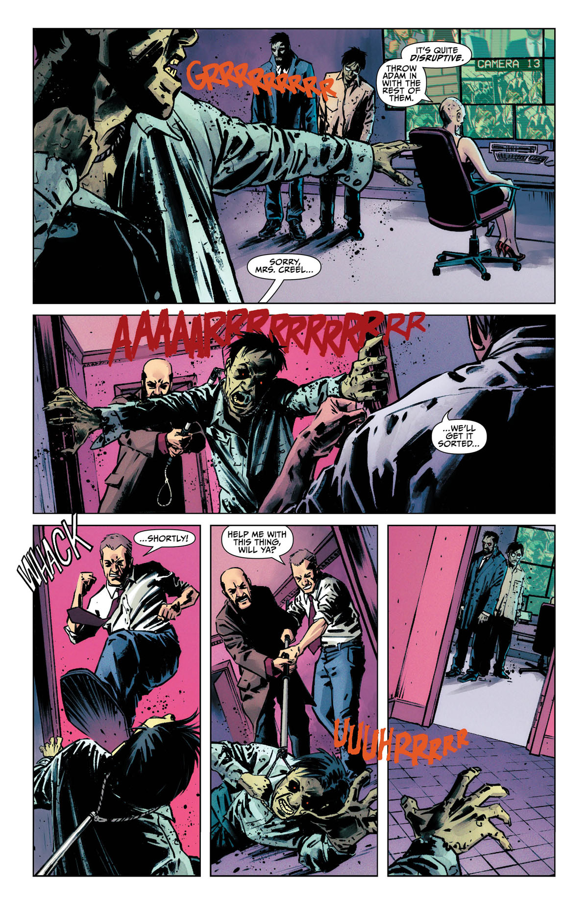 Catwoman #20 page 2