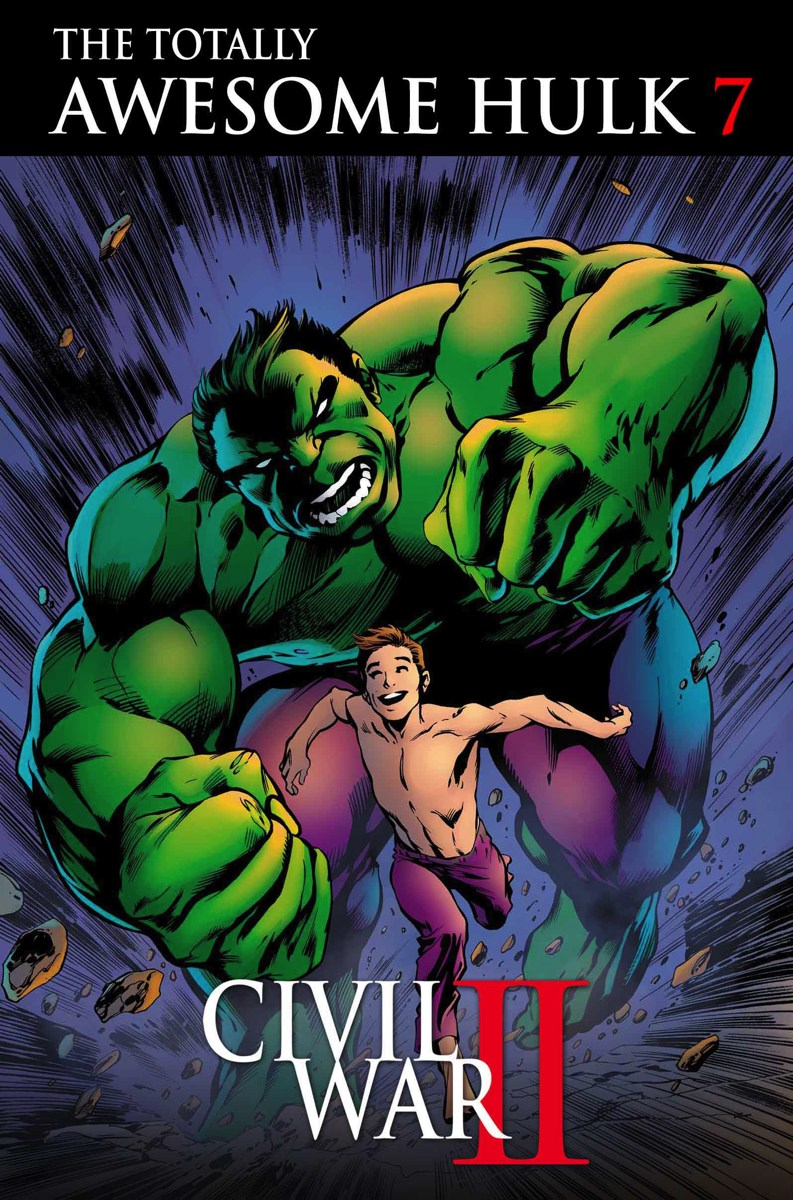 Road to Civil War II: The Totally Awesome Hulk