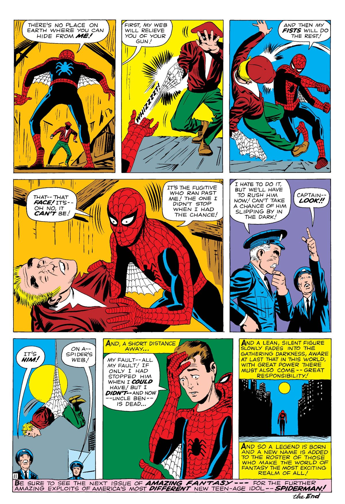 1. Spider-Man! – Amazing Fantasy #15