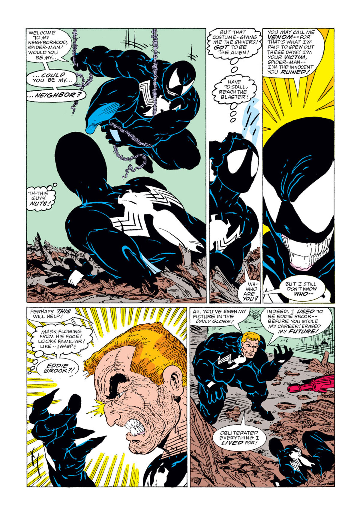 10: Venom – Amazing Spider-Man #300