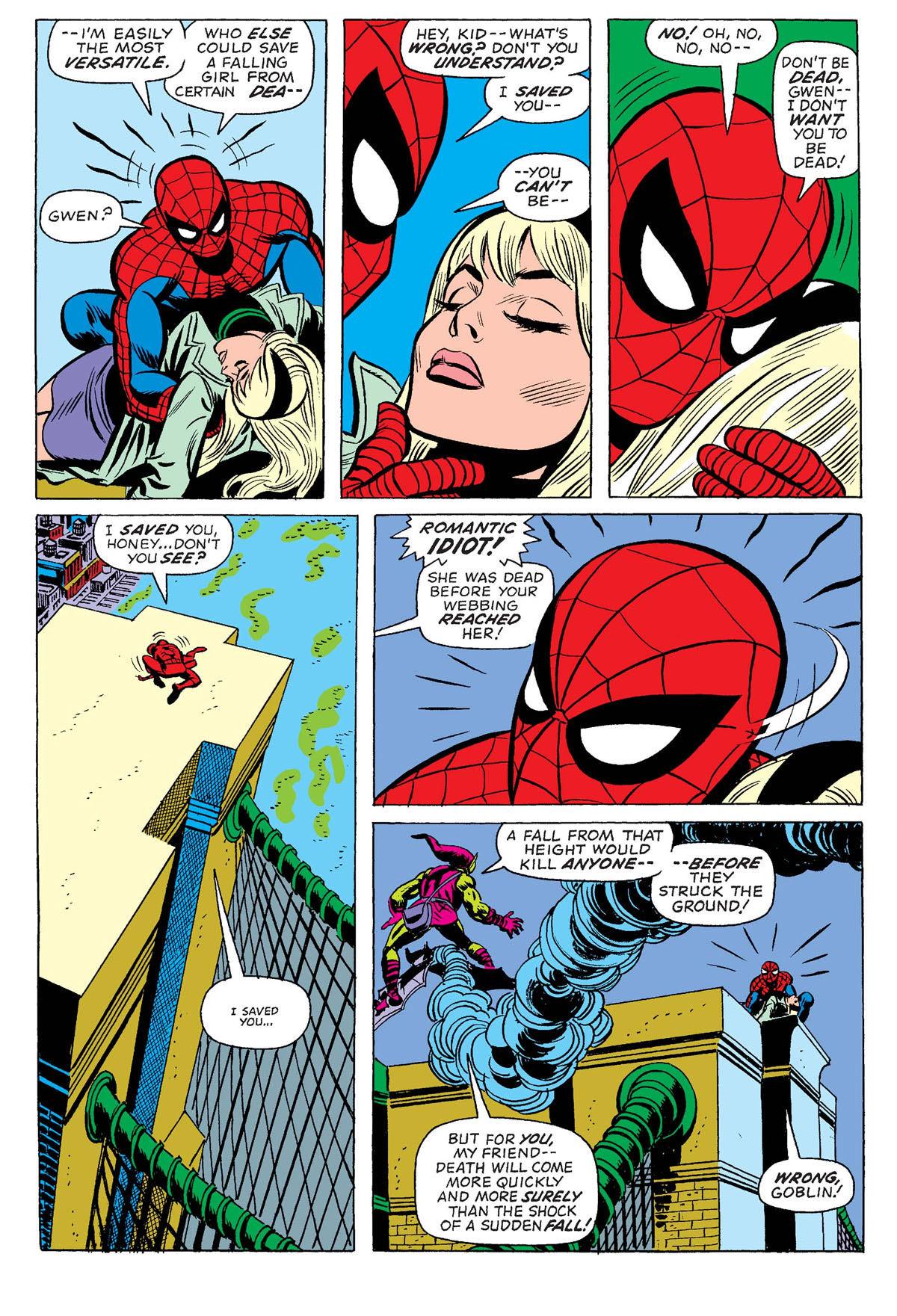 2: The Night Gwen Stacy Died – Amazing Spider-Man #121-122