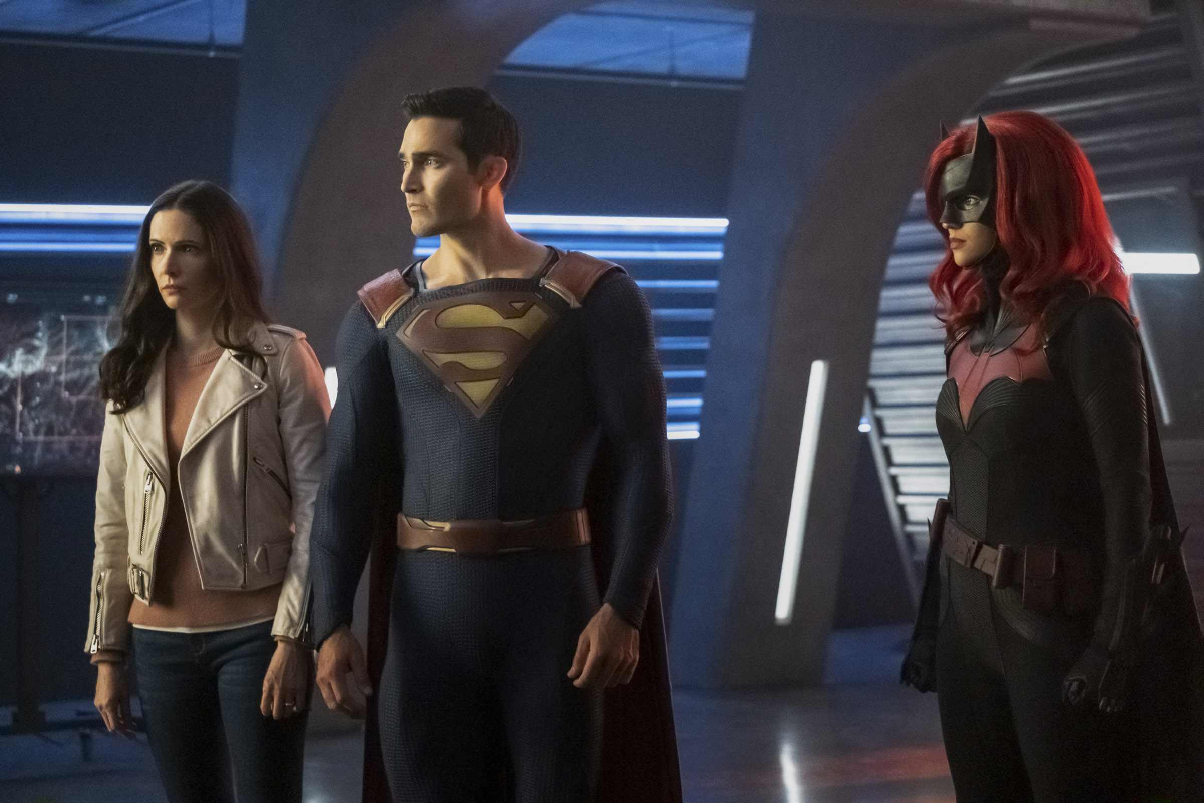 Superman, Lois, and Batwoman