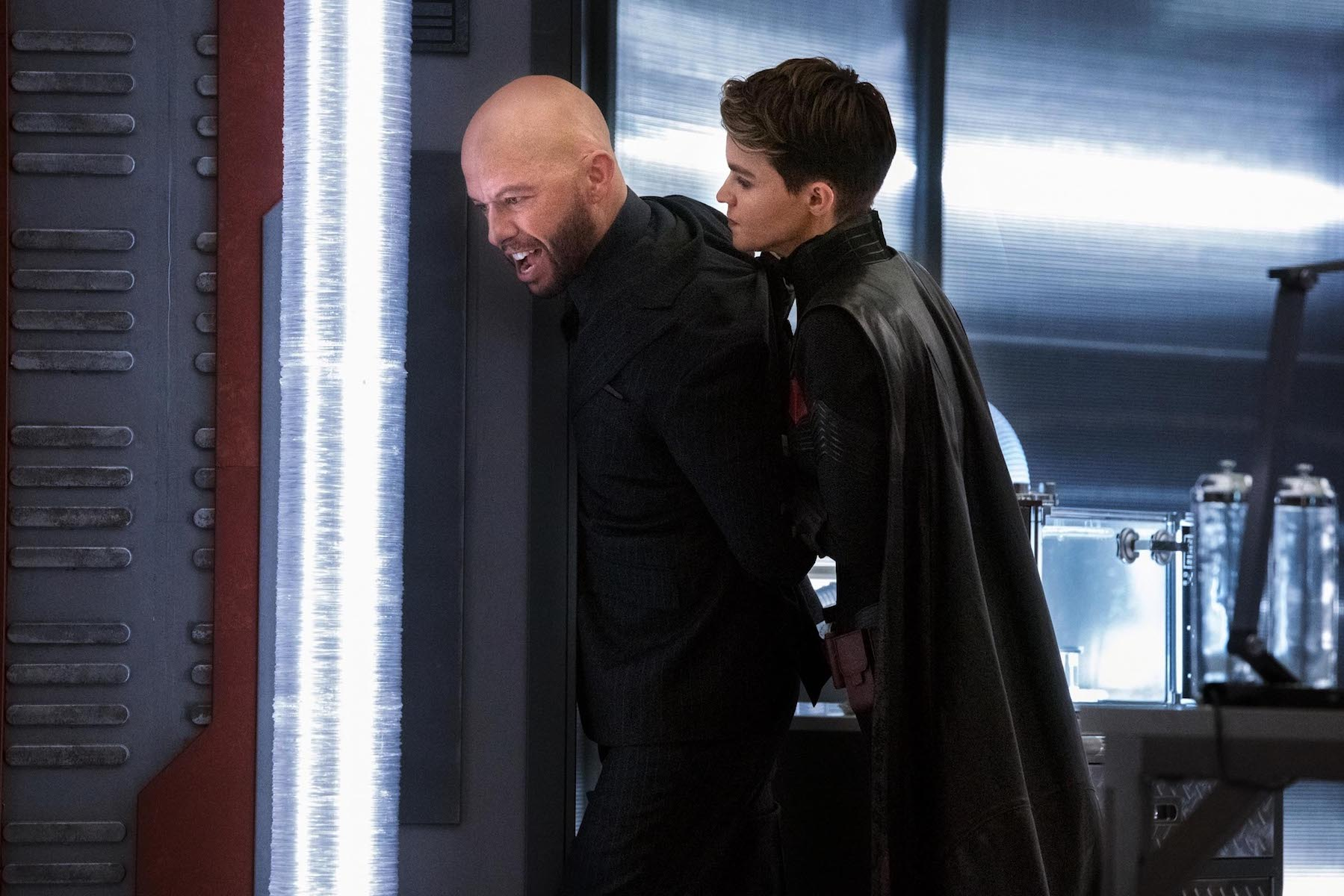 Jon Cryer as Lex Luthor and Ruby Rose as Kate Kane/Batwoman