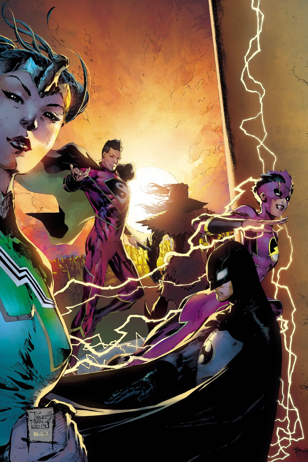 NEW SUPER-MAN AND THE JUSTICE LEAGUE OF CHINA #22