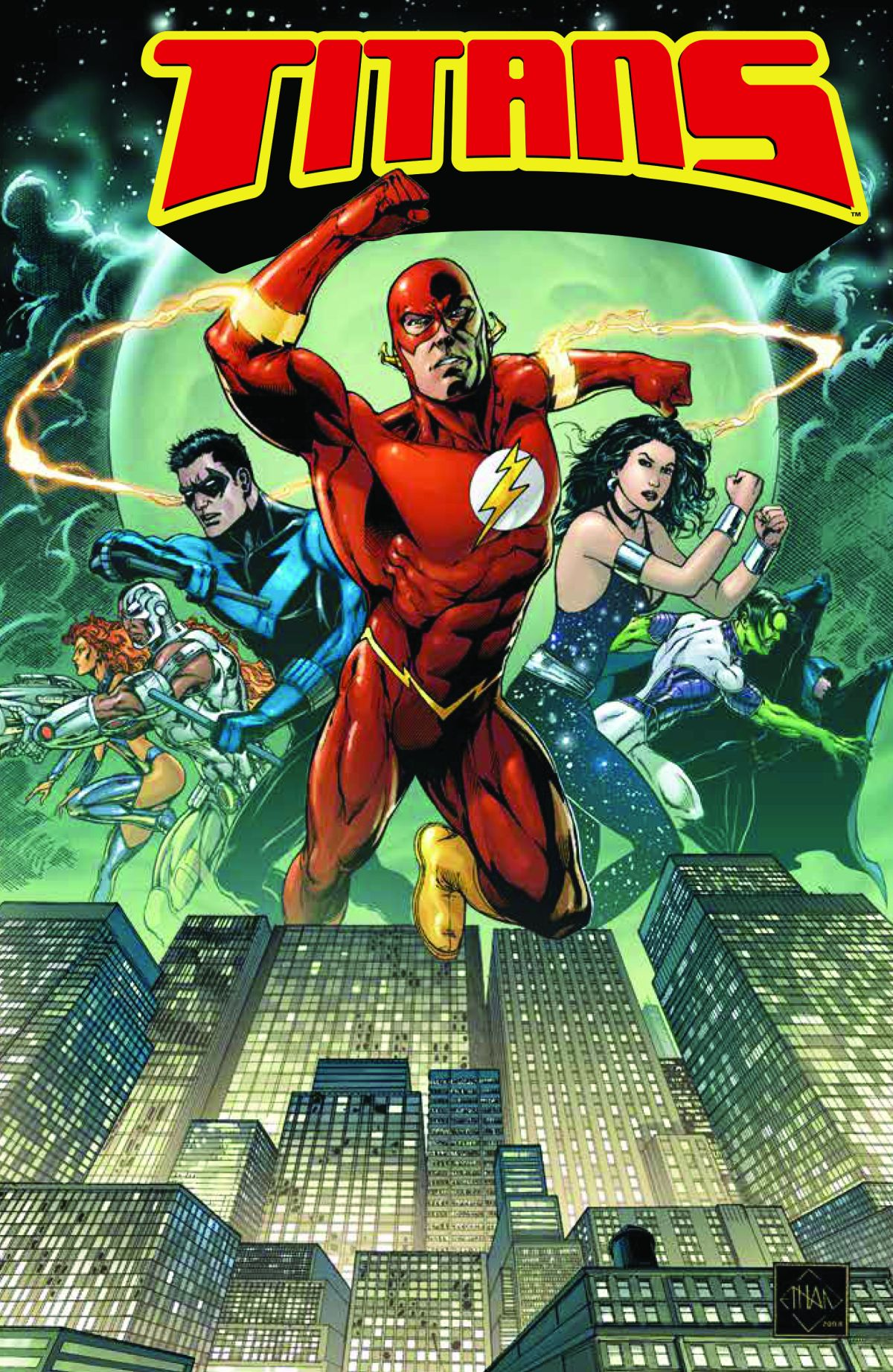 TITANS BOOK ONE: TOGETHER FOREVER TP