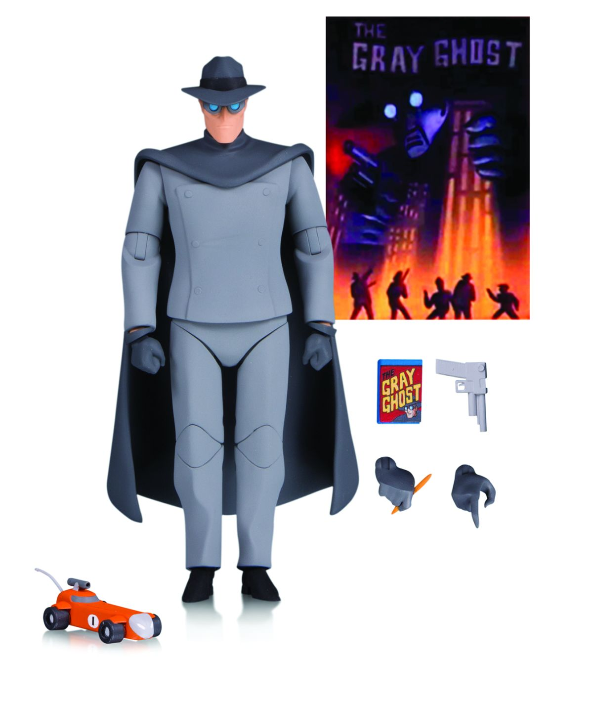 BATMAN: THE ANIMATED SERIES GRAY GHOST ACTION FIGURE