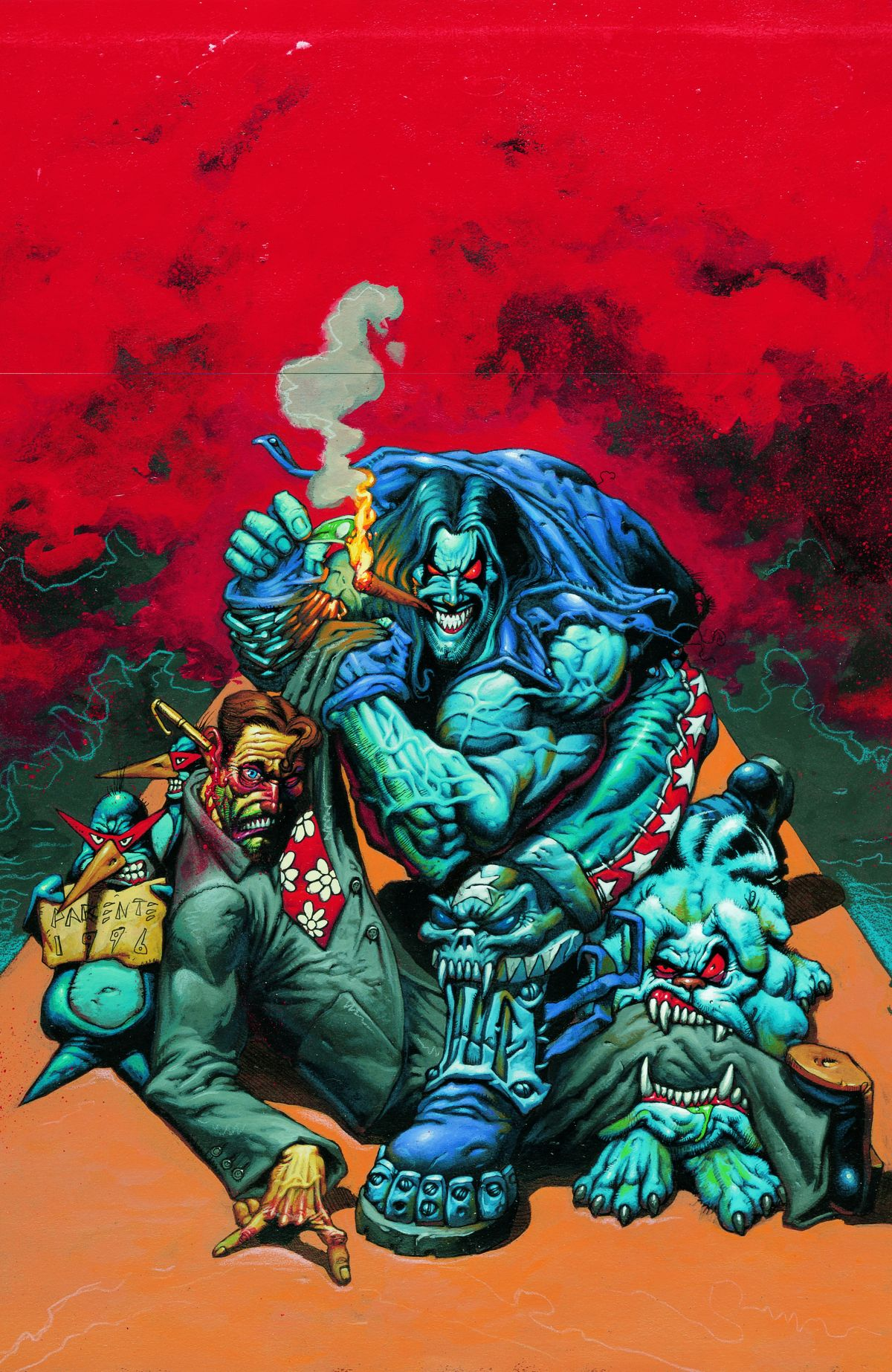 LOBO BY KEITH GIFFEN AND ALAN GRANT VOL. 2 TP