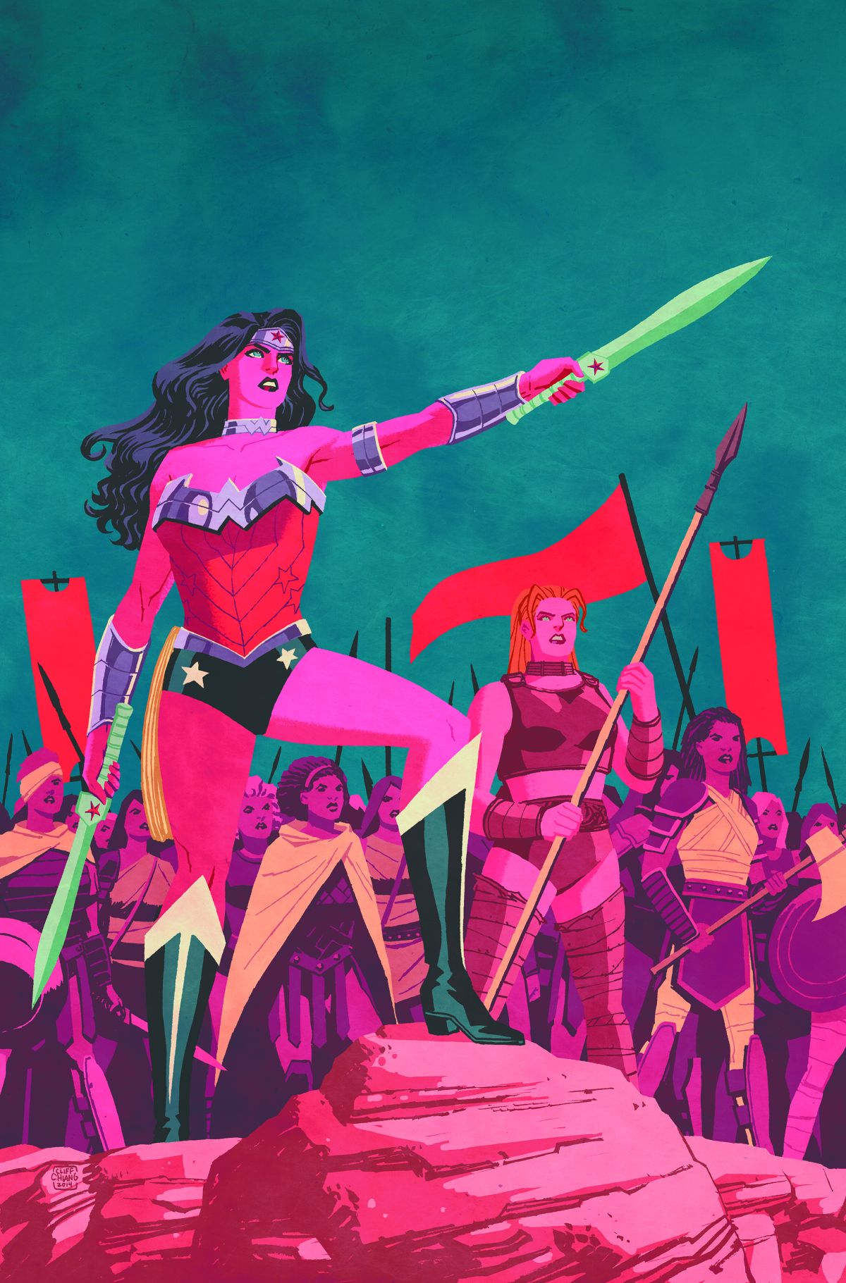 WONDER WOMAN BY BRIAN AZZARELLO AND CLIFF CHIANG OMNIBUS HC