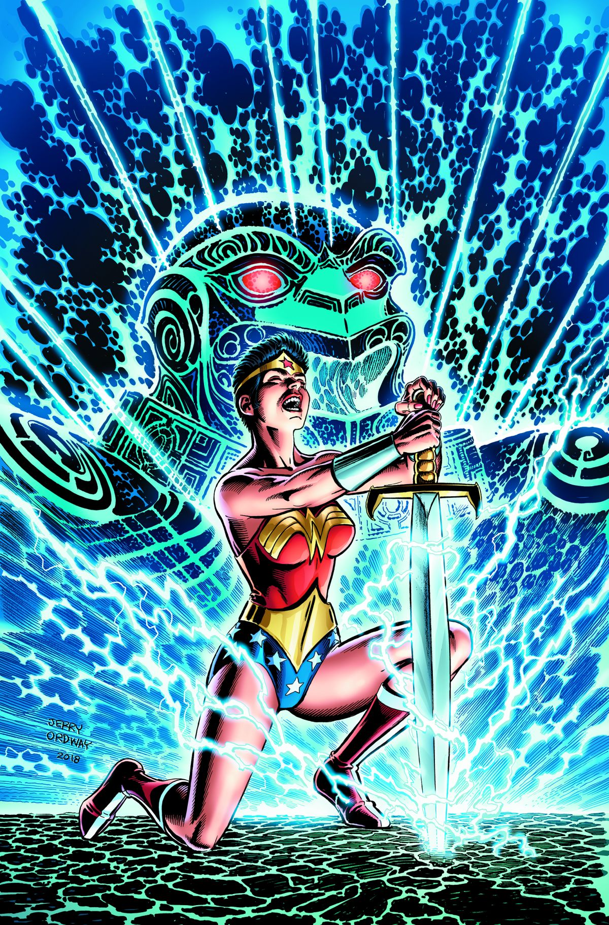 WONDER WOMAN BY WALTER SIMONSON AND JERRY ORDWAY TP