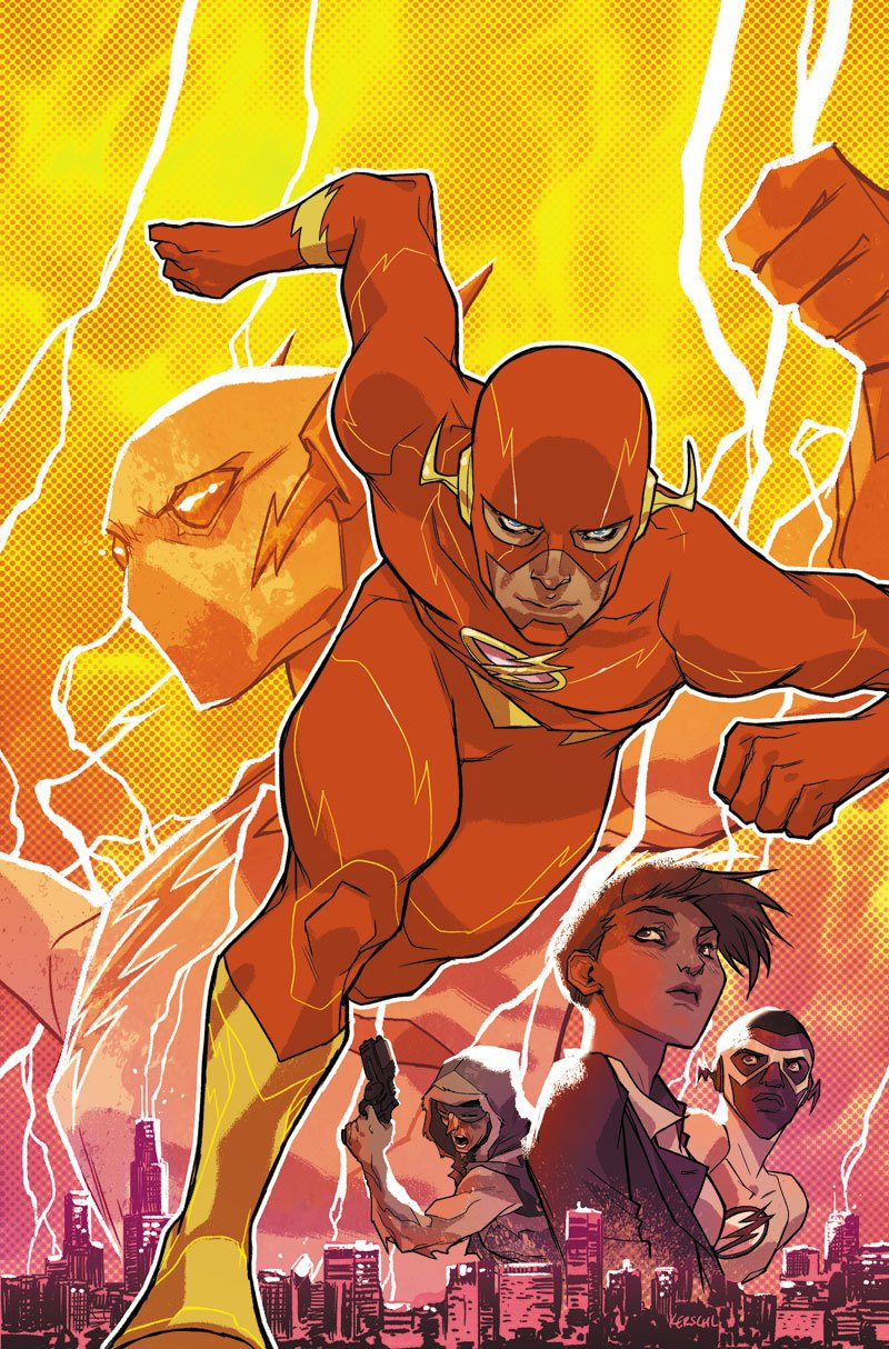 THE FLASH: THE REBIRTH COLLECTION DELUXE EDITION BOOK ONE HC