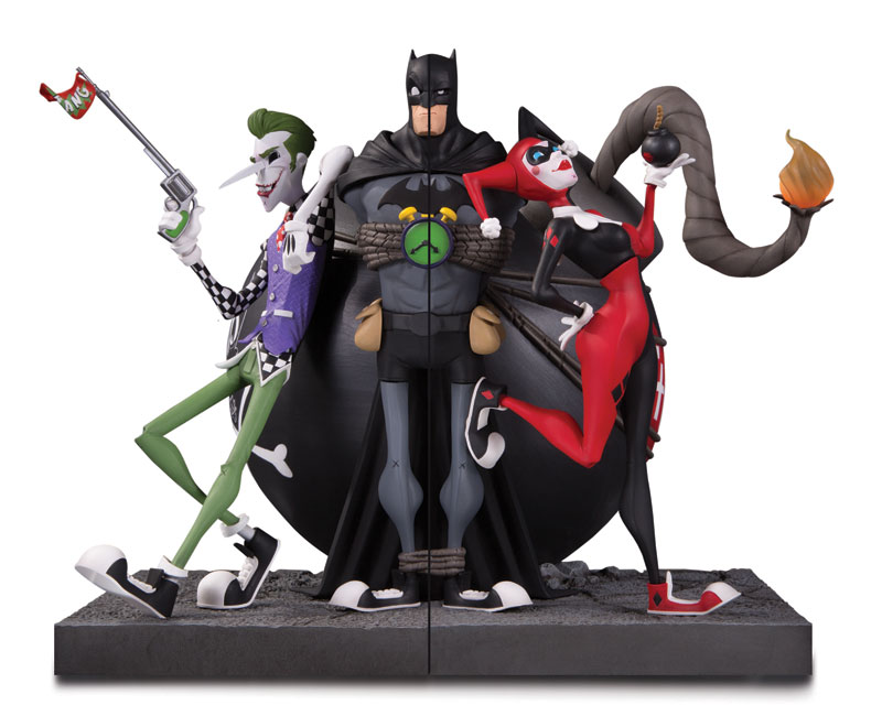 DC GALLERY: THE JOKER AND HARLEY QUINN BOOKENDS