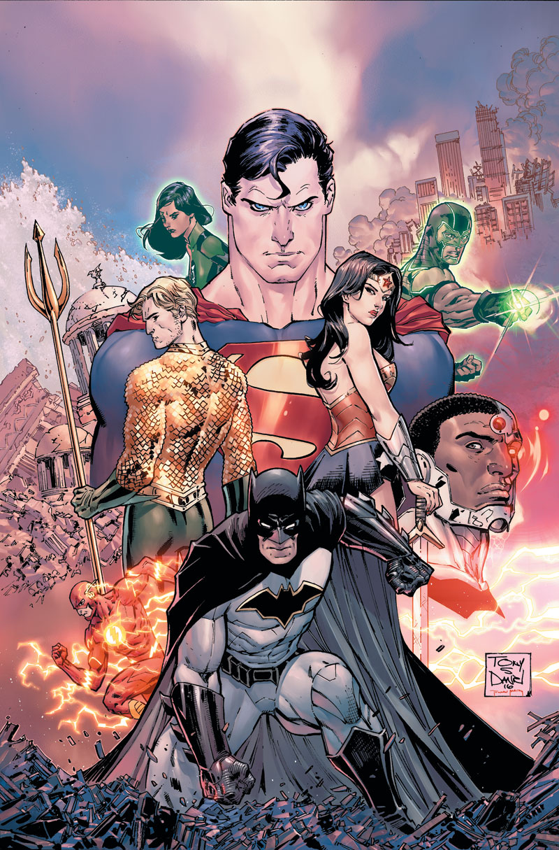 JUSTICE LEAGUE: THE REBIRTH COLLECTION DELUXE EDITION BOOK ONE HC