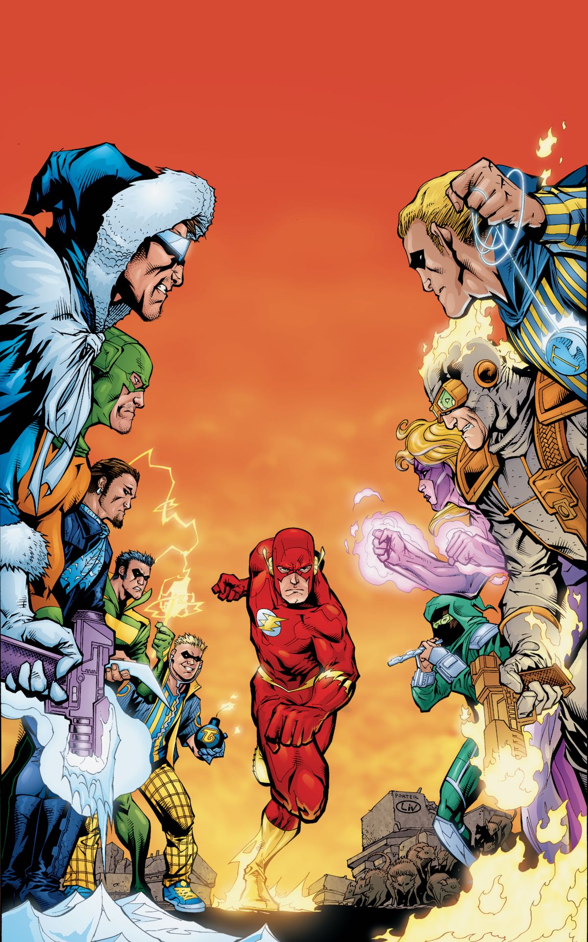 THE FLASH BY GEOFF JOHNS BOOK FIVE TP