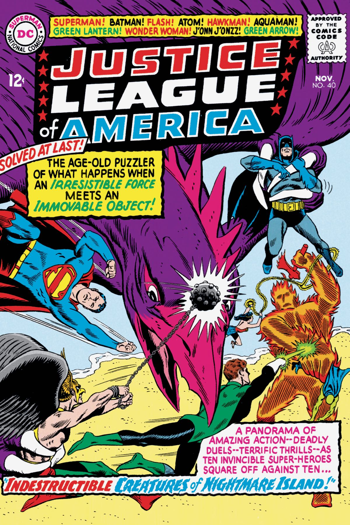 JUSTICE LEAGUE OF AMERICA: THE SILVER AGE VOL. 4 TP