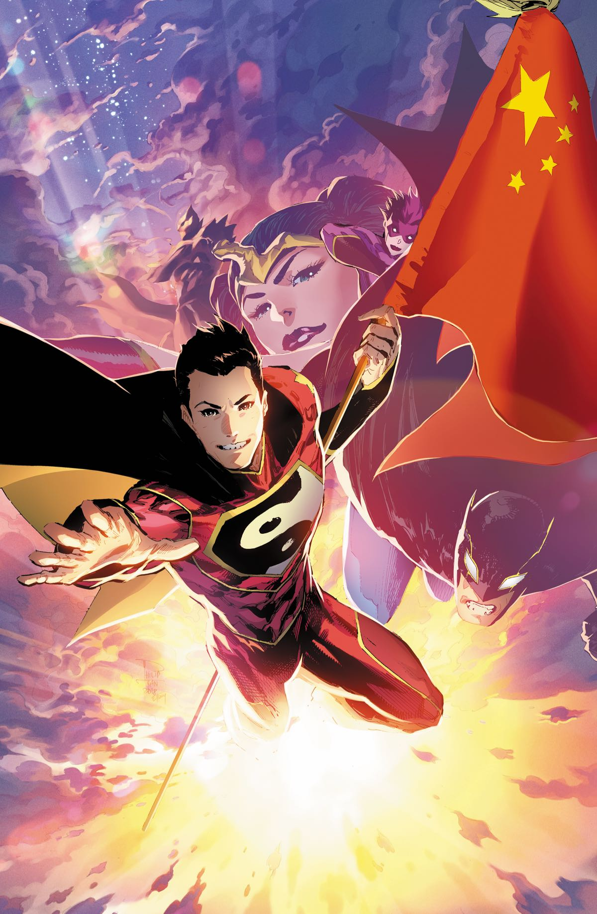 NEW SUPER-MAN AND THE JUSTICE LEAGUE OF CHINA #24