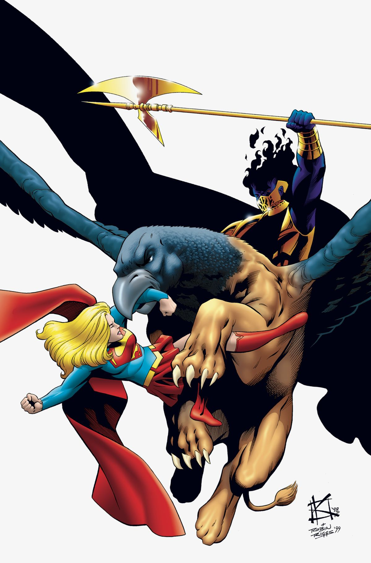 SUPERGIRL BY PETER DAVID BOOK FOUR TP