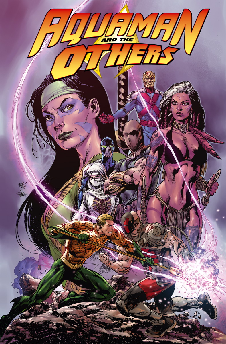 AQUAMAN AND THE OTHERS VOL. 2: ALIGNMENT EARTH TP