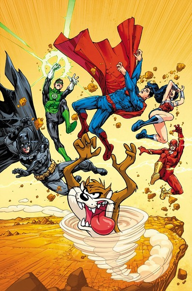JUSTICE LEAGUE OF AMERICA #6 VARIANT