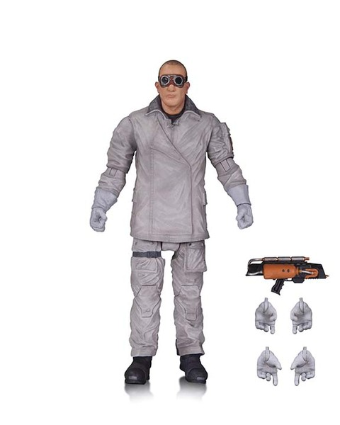 THE FLASH (TV): REVERSE-FLASH AND HEAT WAVE ACTION FIGURES