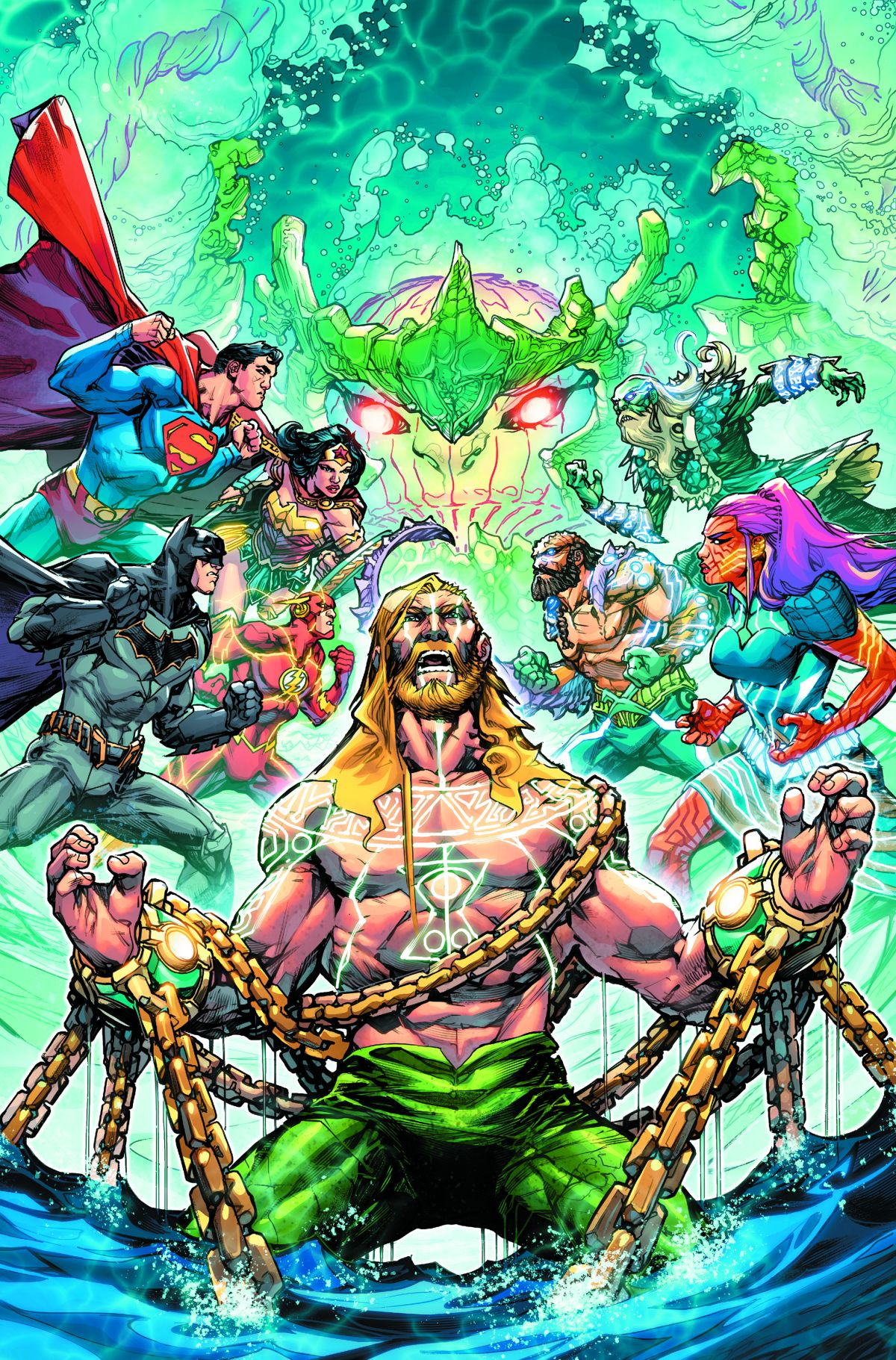 JUSTICE LEAGUE/AQUAMAN: DROWNED EARTH #1