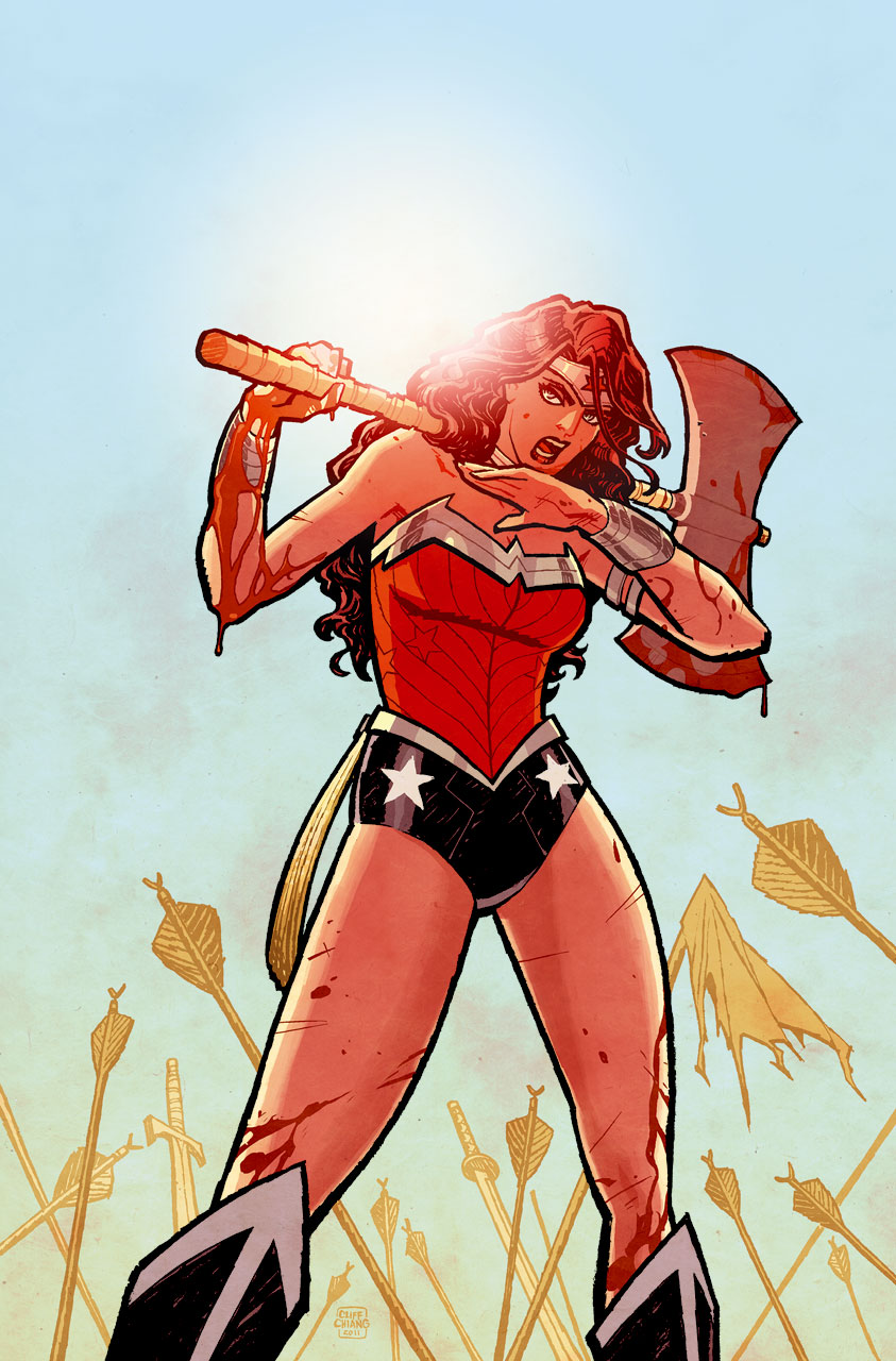 ABSOLUTE WONDER WOMAN BY BRIAN AZZARELLO AND CLIFF CHIANG VOL. 1 HC