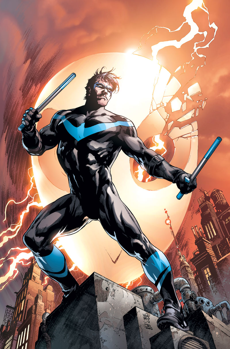 NIGHTWING: THE REBIRTH DELUXE EDITION BOOK ONE HC