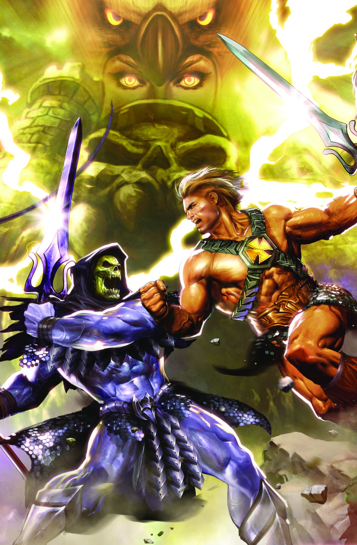 HE-MAN AND THE MASTERS OF THE UNIVERSE OMNIBUS HC