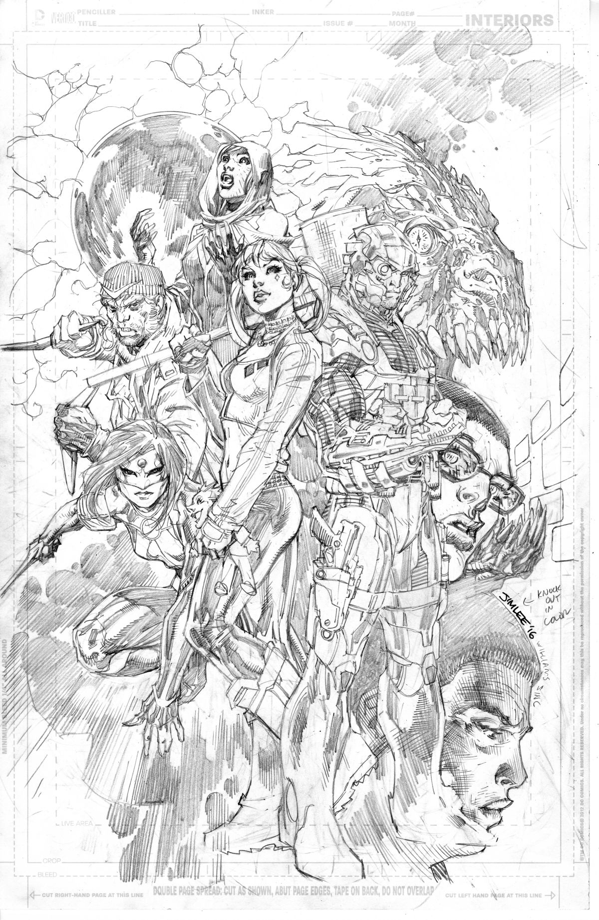 SUICIDE SQUAD UNWRAPPED BY JIM LEE HC
