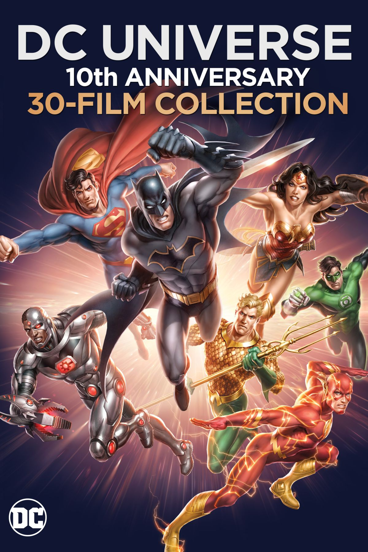DC Universe Original Movies: 10th Anniversary Collection