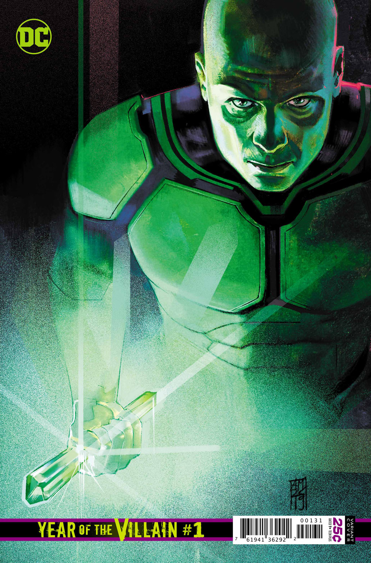 DC's Year of the Villain #1 Lex Luthor variant cover