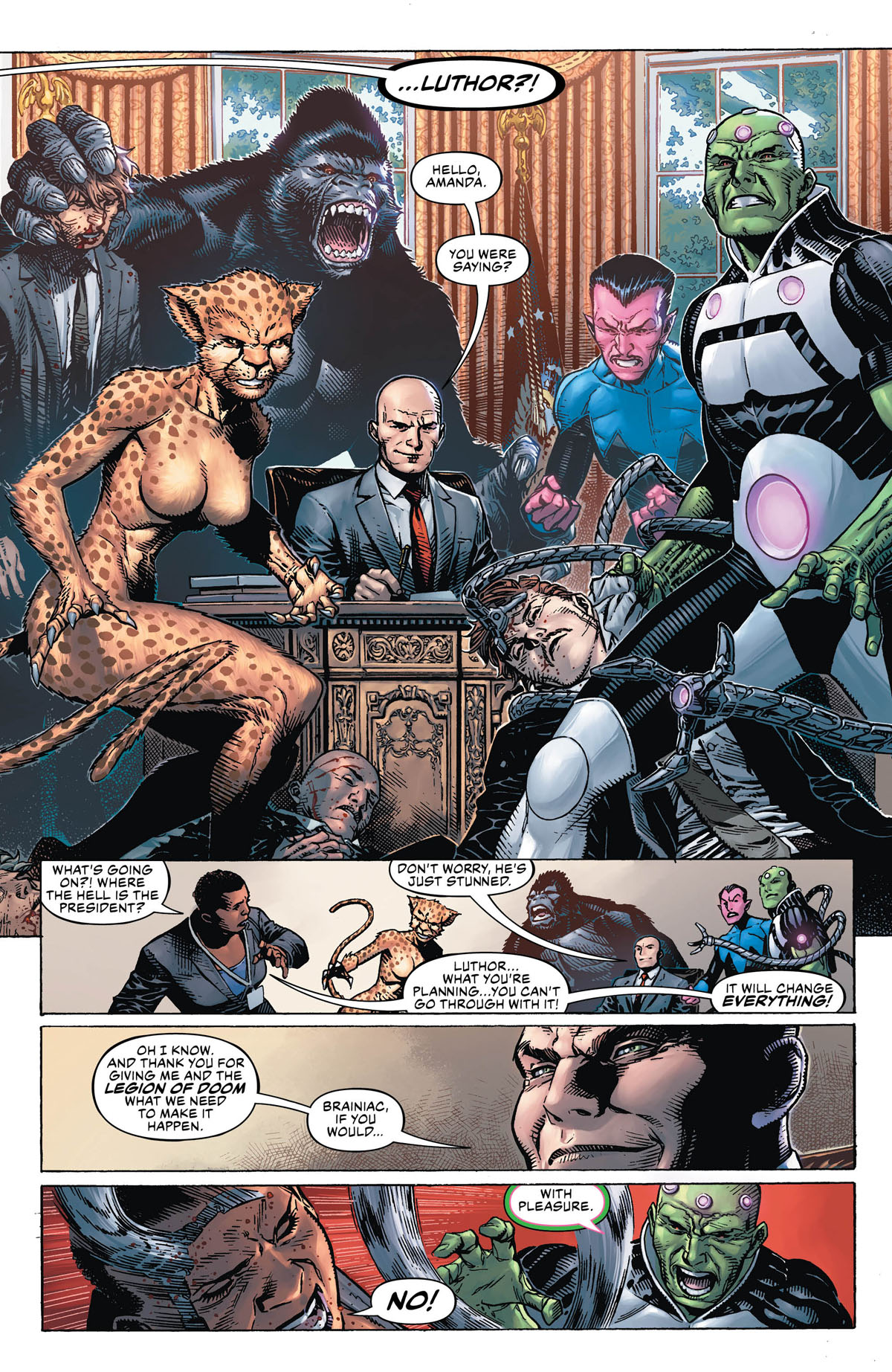 DC's Year of the Villain #1 page 2