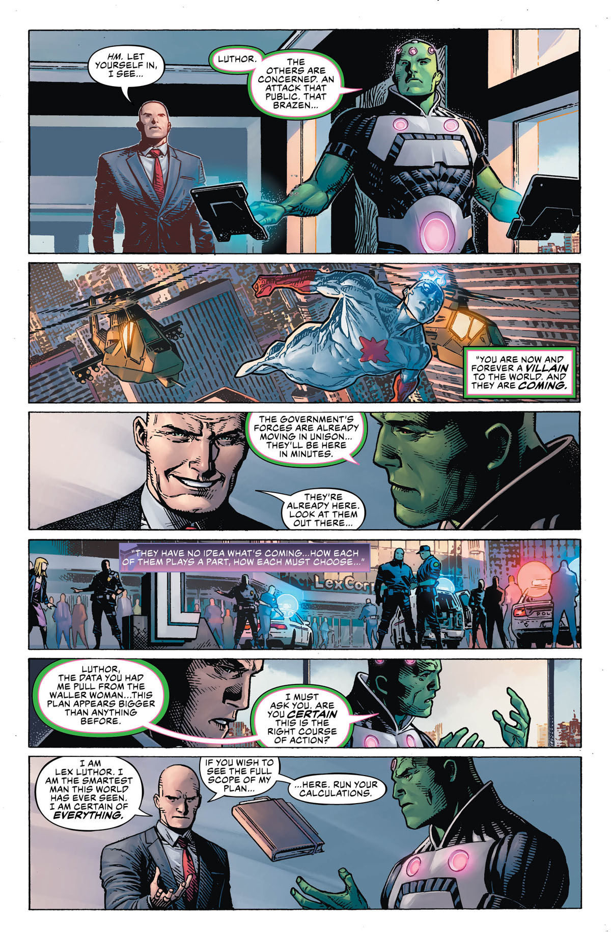 DC's Year of the Villain #1 page 4