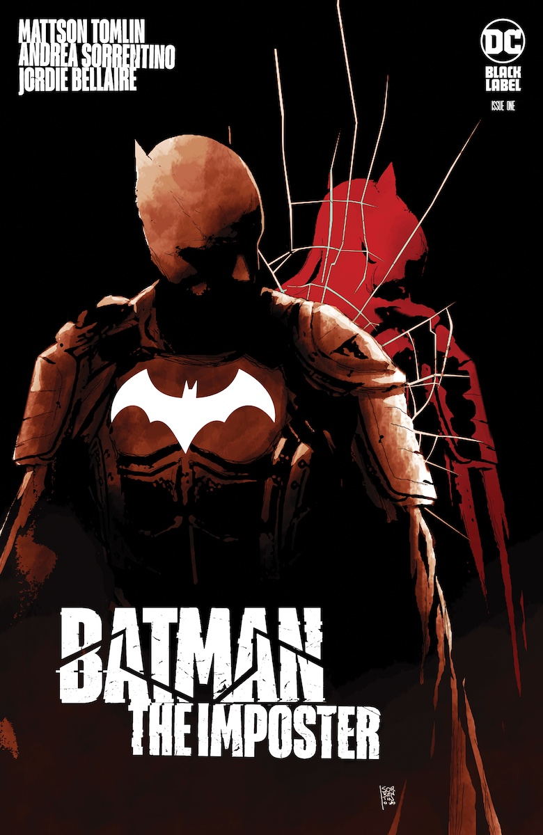 Batman: The Imposter #1 Cover by Andrea Sorrentino