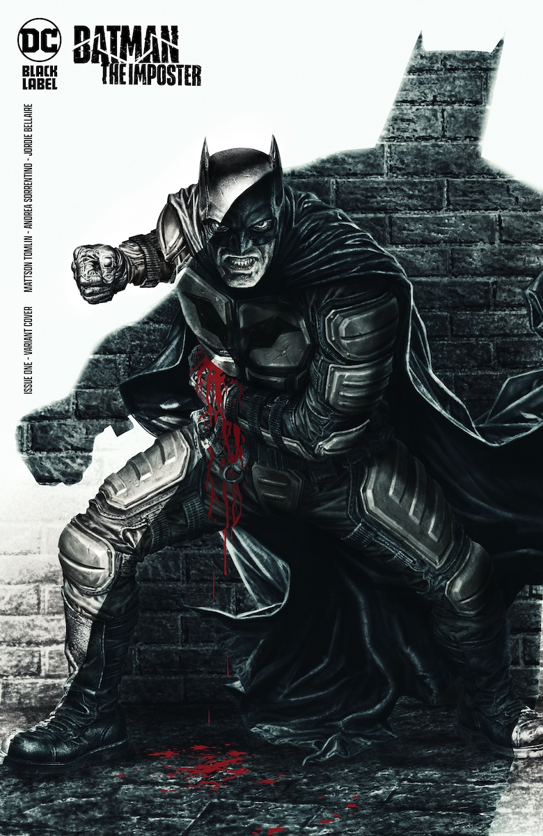 Batman: The Imposter #1 Variant Cover by Lee Bermejo