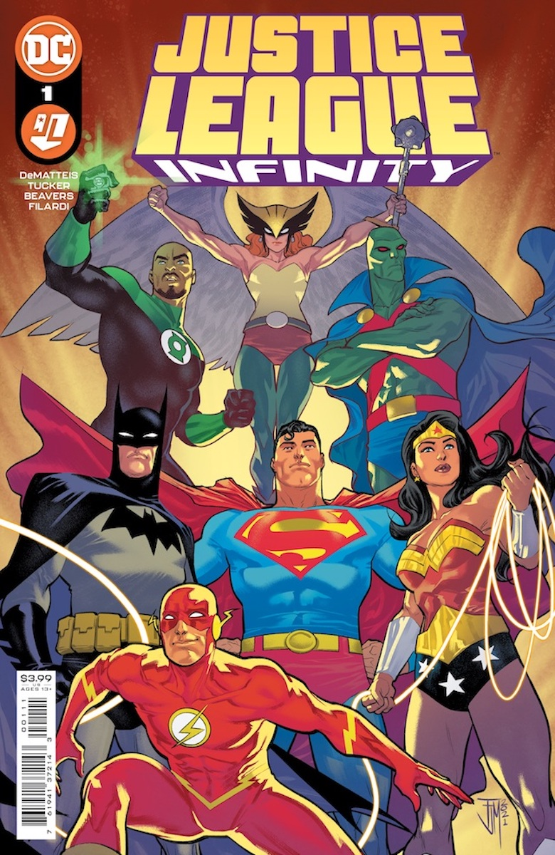 Justice League Infinity #1 Main Cover by Francis Manapul