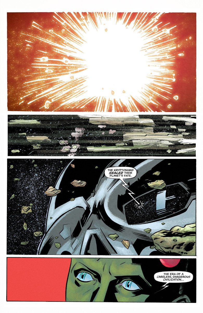 Superman '78 #1 Page 1 (Art by Wilfredo Torres)