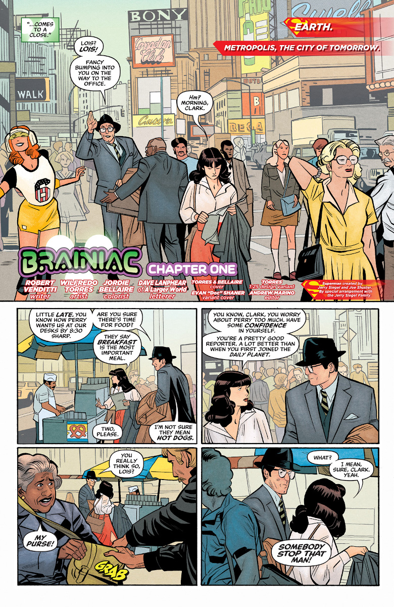 Superman '78 #1 Page 2 (Art by Wilfredo Torres)