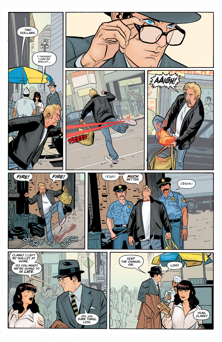 Superman '78 #1 Page 3 (Art by Wilfredo Torres)