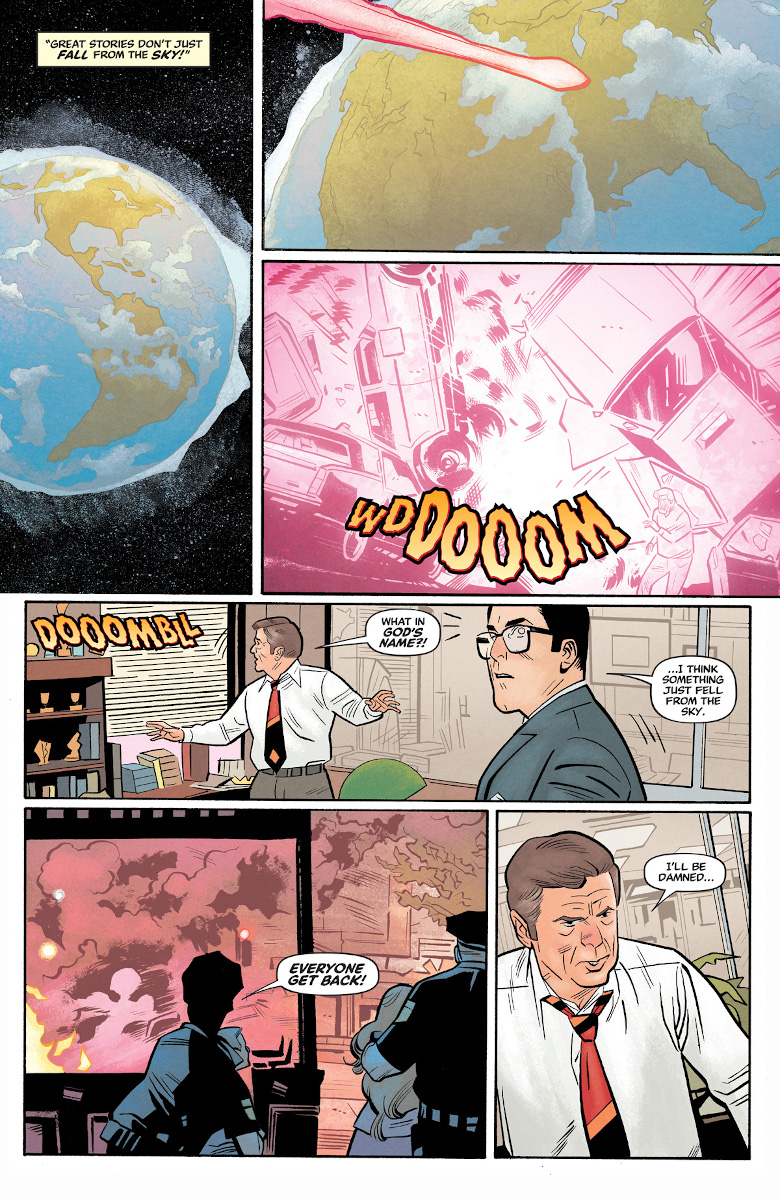 Superman '78 #1 Page 5 (Art by Wilfredo Torres)
