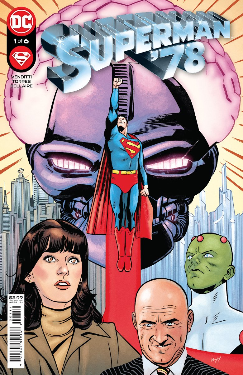 Superman '78 #1 Cover by Wilfredo Torres