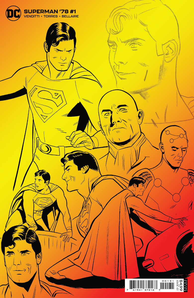 Superman '78 #1 Variant Cover by Wilfredo Torres