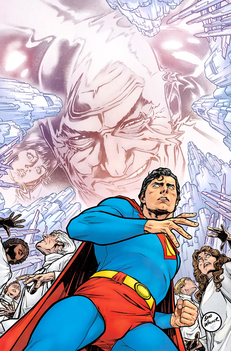 Superman '78 #4 Cover by Brad Walker and Nathan Fairbairn