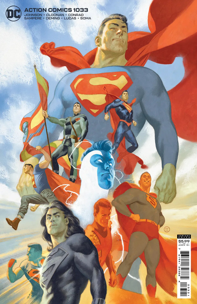 Action Comics #1033 Cover 2