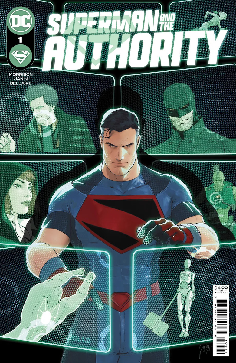 Superman and The Authority #1 Cover 1