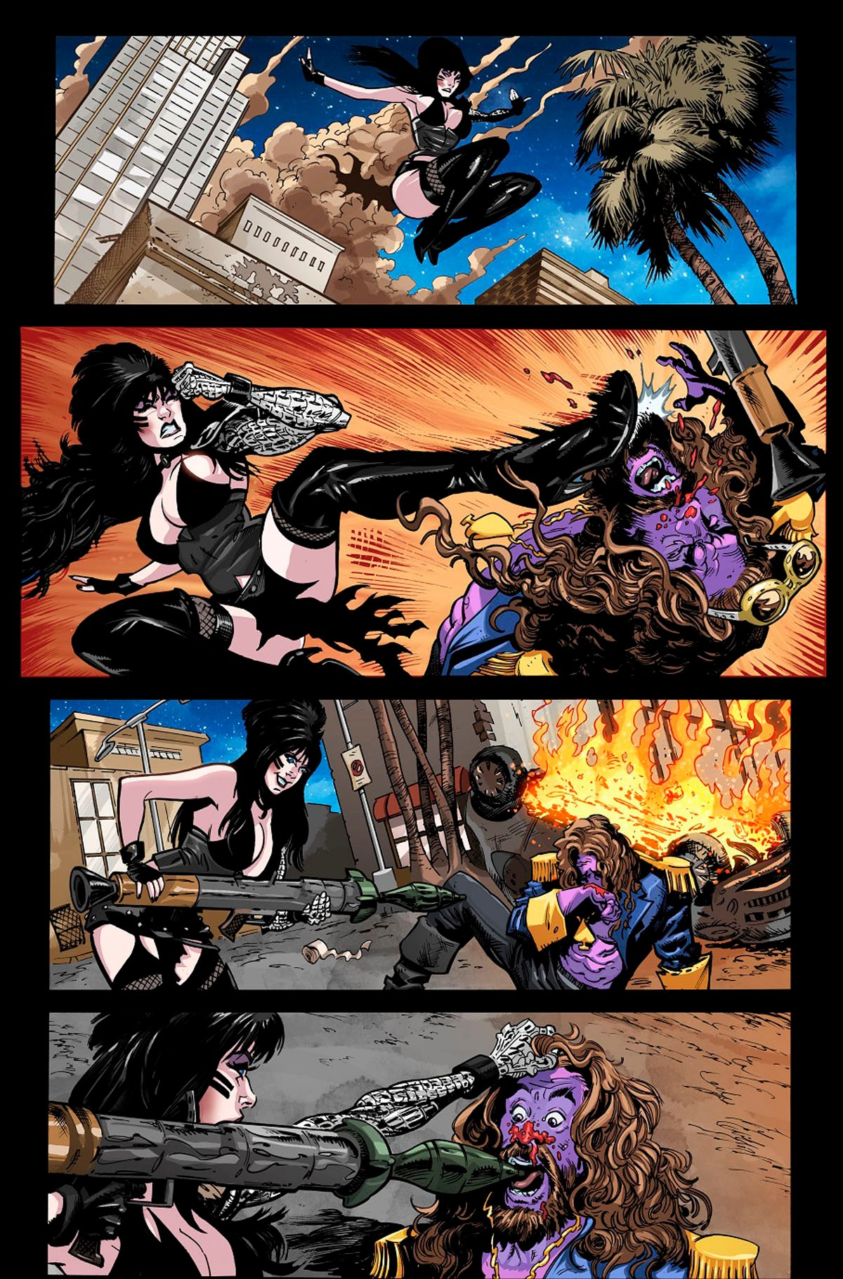 Elvira: The Wrath of Con #1 page 3 by Dave Acosta