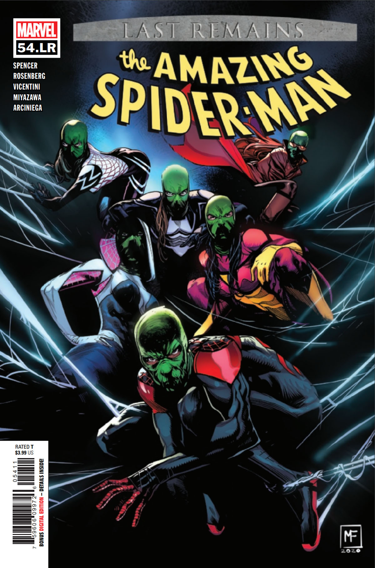 Amazing Spider-Man #54 L.R. cover