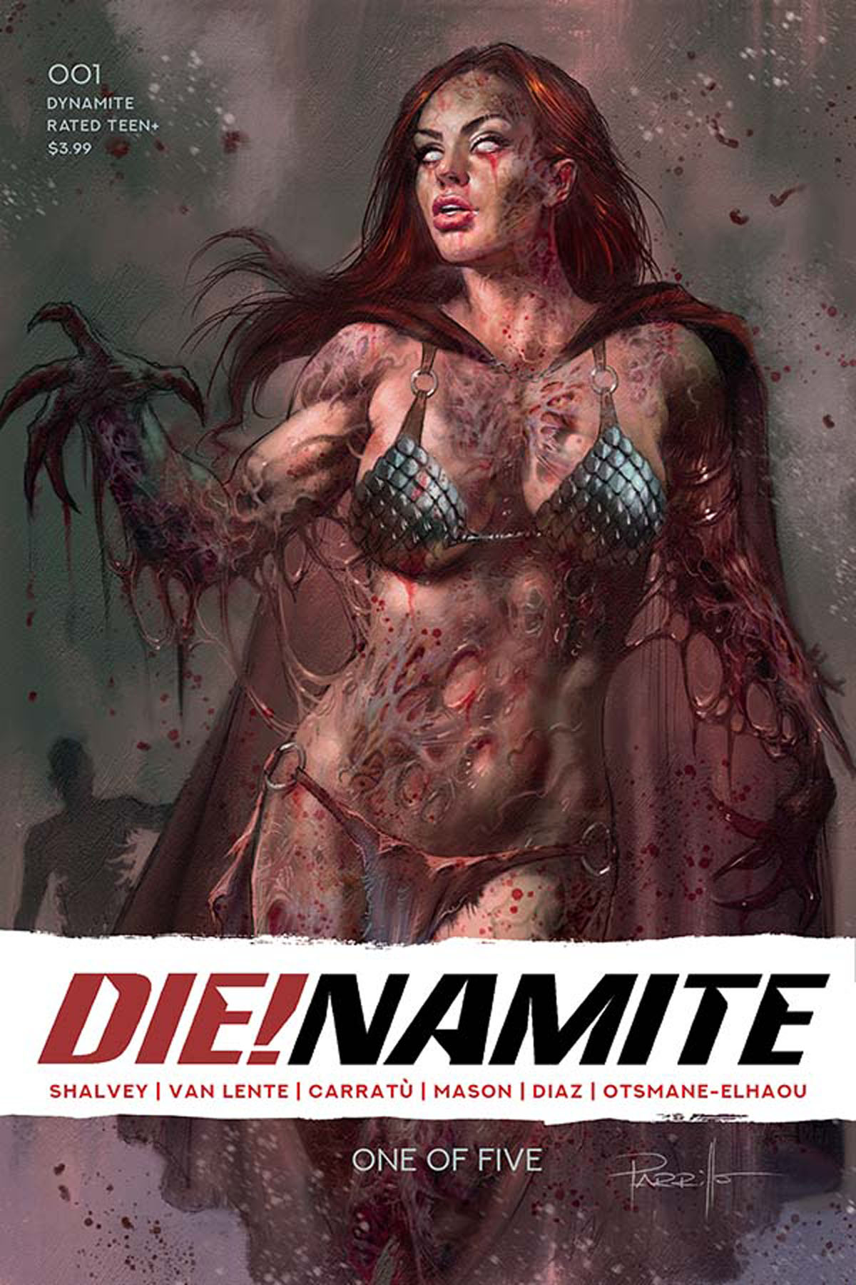 DIE!namite #1 cover A by Parrillo