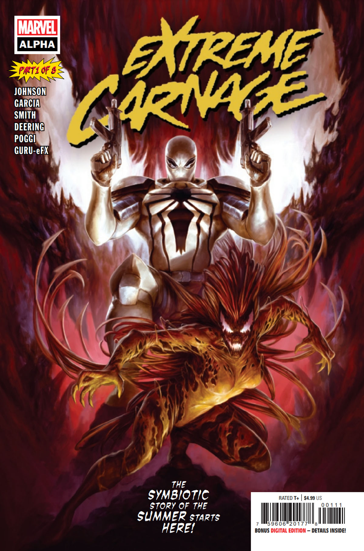 Extreme Carnage Alpha #1 cover