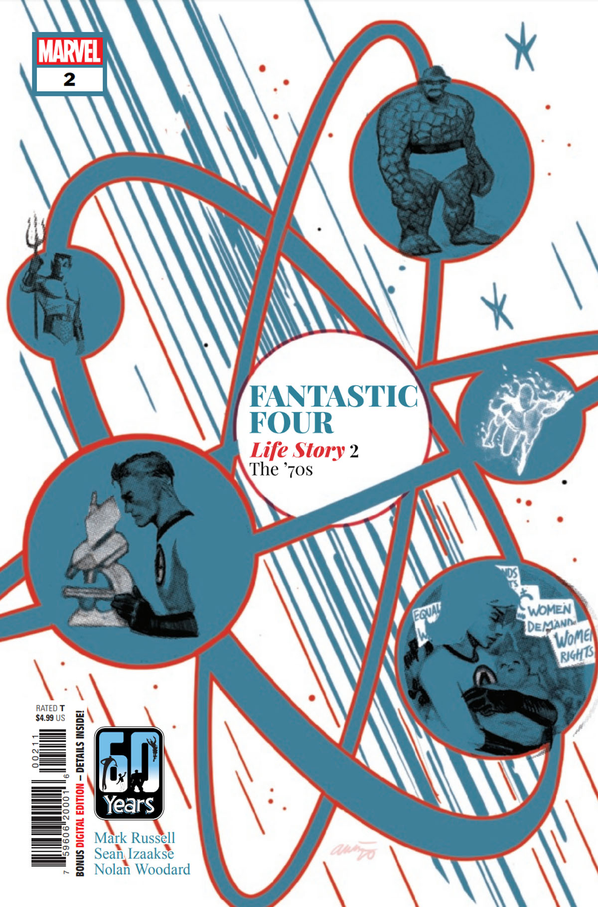 Fantastic Four: Life Story #2 cover