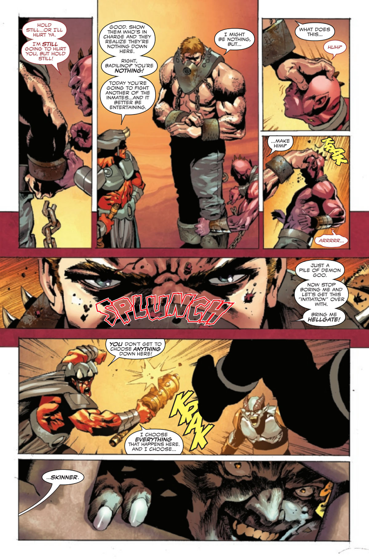 Ghost Rider: Return of Vengeance #1 page 1